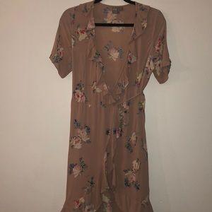 ASOS - Dusty Rose Floral dress